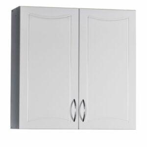 Шкаф навесной 'Стиль-60' (белый) 2 двери 600х600х196