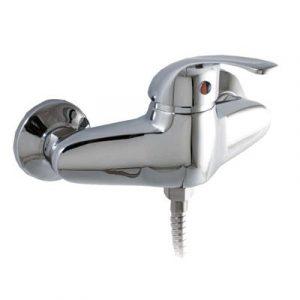 Смеситель Душ СТК-535 (рег.№468190) 'MODERN' шар. d-40 SB47 (горизонт ручка, ниж подкл душ шланга)