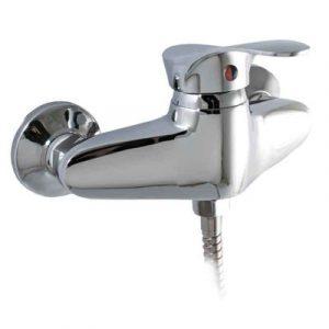 Смеситель Душ СТК-535 (рег.№468190) 'MODERN' шар. d-40 SB65 (горизонт ручка, ниж подкл душ шланга)