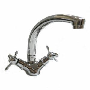 Смеситель Кухня DIABLO (рег.№377092) МАКСИ 1/2 м/к (180-R 49) 3-х лепестк.