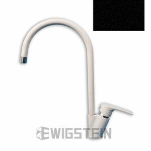 Смеситель Кухня EWIGSTEIN d=35мм U-образ.боковой (антрацит) (50235019)