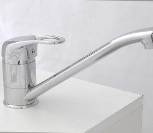 Смеситель Кухня GLORIOSO GL120-04 SВ01 шар. d-40 на гайке