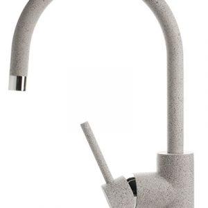 Смеситель Кухня GRANFEST d=35 боковой U - образный (3023501) (310-серый)