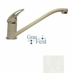 Смеситель Кухня GRANFEST ЭКО-М d=35мм (3321) (белый)