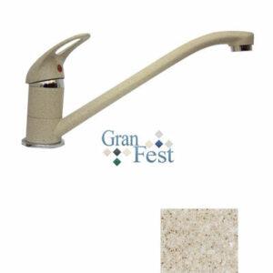 Смеситель Кухня GRANFEST ЭКО-М d=35мм (3321) (песок)