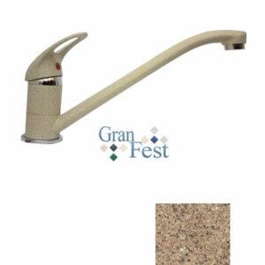 Смеситель Кухня GRANFEST ЭКО-М d=35мм (3321) (терракот)