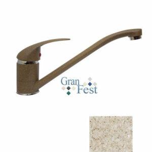 Смеситель Кухня GRANFEST ЭКО-М d=40 (3322) (песок)