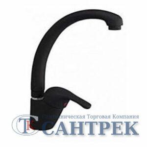 Смеситель Кухня GRANFEST ЭКО-М d=40 боковой (3323) (черный)