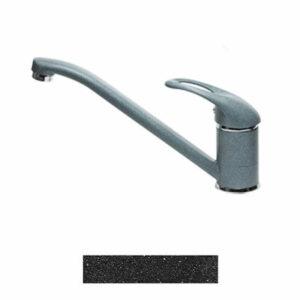 Смеситель Кухня GRANICOM 001 низкий излив (антрацит-черный)