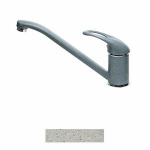Смеситель Кухня GRANICOM 001 низкий излив (серебристый)