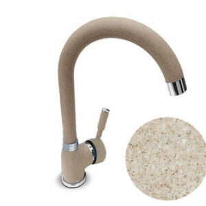 Смеситель Кухня QUARZ GRANFEST d=35 боковой (песок) (Z3323)