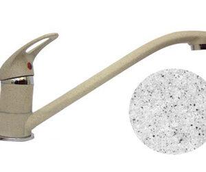 Смеситель Кухня QUARZ GRANFEST d=35 (серый) (Z3321)