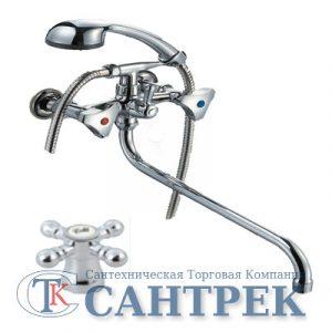Смеситель Ванна 1/2 м/к (литой) ПСМ-156-К/89 Крест