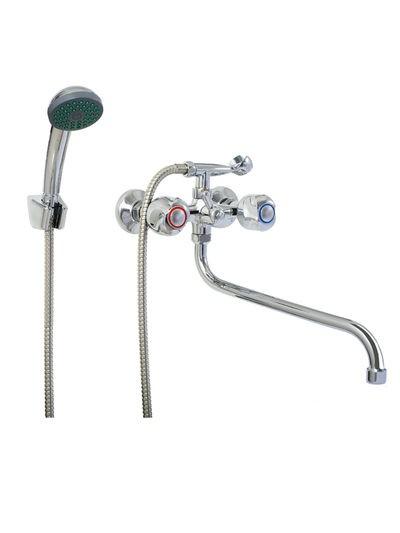 Смеситель Ванна 1/2 м/к (литой) шар. перекл. ПСМ-157-К/48 - 1