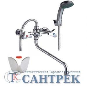 Смеситель Ванна 1/2 м/к (сборный) ПСМ-150-К/03 Лючия
