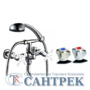 Смеситель Ванна 1/2 м/к (сборный) шар. перекл. ПСМ-165-К/50 Металл