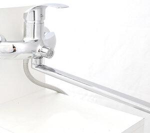 Смеситель Ванна GLORIOSO GL150-16 SВ70 шар. d-40 дл излив