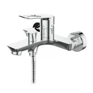 Смеситель ванна Raiber R2102 Osdorf, шар. d35мм, кор. нос, лейка 3 режима