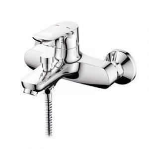 Смеситель ванна Raiber R5004 Primo, шар. d35мм, кор. нос. лейка 3 режима
