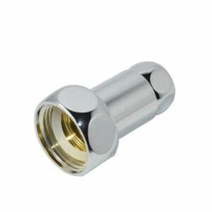 Соединение прямое д/полотенцесушителя 3/4'х3/4' г/г хром (2 шт)