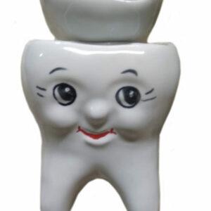 Стакан под зубные щетки 'Зуб'