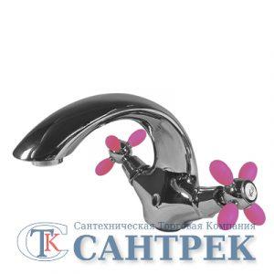 Т1340-302 Смеситель Тюльпан 'ВАРИОН' м/к, Ностальжи роз.