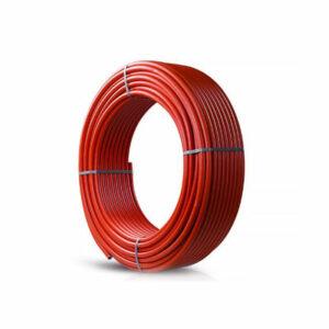 Труба из сшитого полиэтилена PRO AQUA PE-RT d16 (для теплых полов) (бухта 100м) КРАСНАЯ