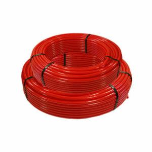 Труба из сшитого полиэтилена РОСТУРПЛАСТ PE-RT d16 (для теплых полов) (бухта 100м) КРАСНАЯ