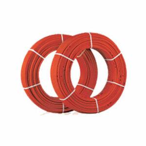 Труба из сшитого полиэтилена WARM FLOOR PE-RT 20х2.0мм (для теплых полов) (бухта 150м) КРАСНАЯ