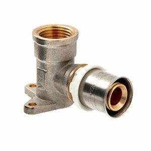 Уголок с креплением (водорозетка) пресс 20*1/2 ц/г VALTEС (VTm.254)