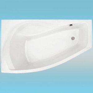 Ванна акрил САНТЕК 'Майорка XL' 1600х950 левая в комплекте: каркас (без фолдона)