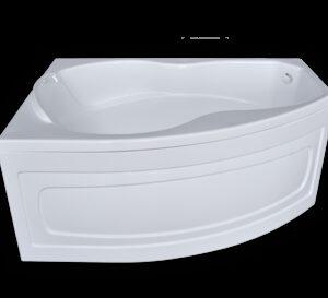 Ванна акрил Sunbath 'БЕРТА' левая 1500х1050х700 в комплекте с каркасом (без фолдона)