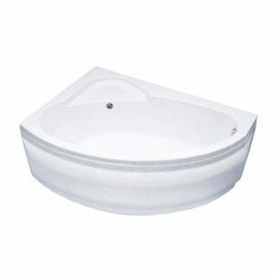 Ванна акрил Sunbath 'ФЛАВИЯ' левая 1500х1000х550 в комплекте с каркасом (без фолдона)