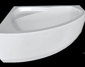 Ванна акрил Sunbath 'ВИОЛА' левая 1680х1160х700 в комплекте с каркасом (без фолдона)