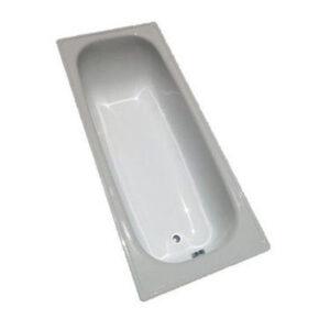 Ванна стальная эмалированная 1500х700х360 см.белая (с ножками) б/сиф.Китай