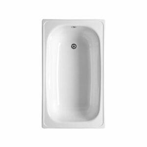 Ванна стальная White wave 150*75*38 cм. белая (с ножками) б/сиф.Караганда