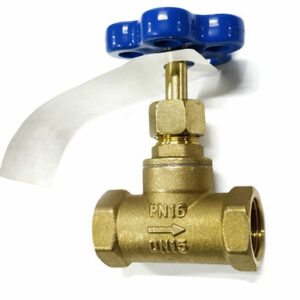 Вентиль для воды Rm 15БЗр ДУ-15 PN 16 внут/внутр