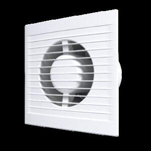Вентилятор AURAMAX A6S С осевой вытяжной с антимоскит.сеткой, обрат.клапаном d=150