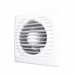 Вентилятор AURAMAX OPTIMA 5С осевой вытяжной с обрат.клапаном d=125