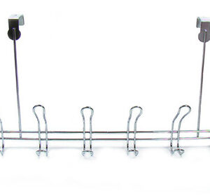 Вешалка с крючками 6 по 2 навесная прямая (XSQ-407)