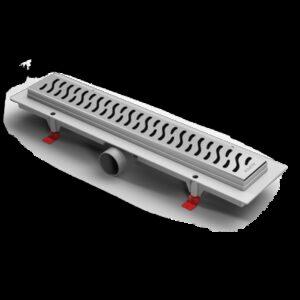 Водоотводящий желоб ALPEN с решеткой из нерж. Harmony 350мм (Чехия)