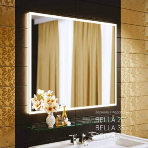 Зеркало BELLA 35-80 р-р: 800х800 (Аляванн)
