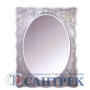 Зеркало для ванной комнаты (F672) FRAP (в цв.стек.раме) + крепеж