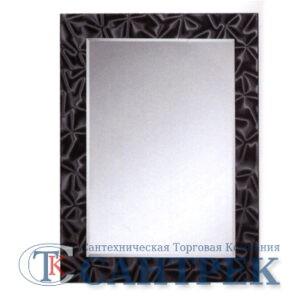 Зеркало для ванной комнаты (F683) FRAP (в черн рамке)