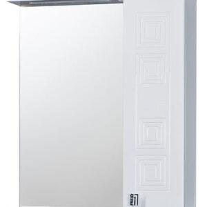 Зеркало 'Греция 60' 002 С белый правый 600х720х166