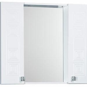 Зеркало 'Греция 80' С 002 белый 800х720х166