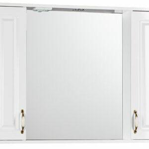 Зеркало 'Лаура 100' С (белый) 1000х750х165