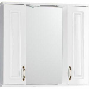 Зеркало 'Лаура 80 'С (белый) 800х760х165