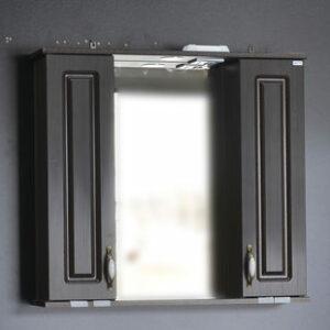 Зеркало 'Лаура 80' С (венге) 800х760х165