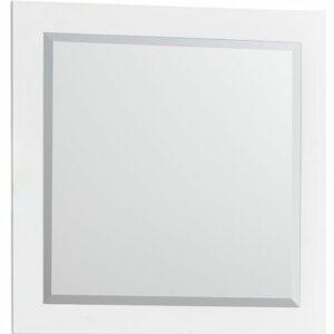 Зеркало 'Лия' (белый) 450*450